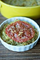 Bless Her Heart: Spaghetti Squash with Pesto and Parmesan...