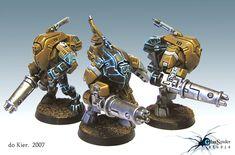 CoolMiniOrNot - Tau Stealth Team by Do Kier