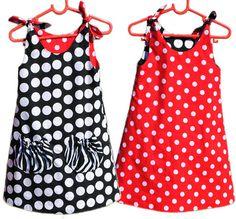 Eva Dress - beginner sewing pattern for girls