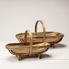 Wooden Garden Trug – Healdsburg SHED! I love this for gathering flowers, greenery, veggies from the garden and holding fruit on my kitchen counter!