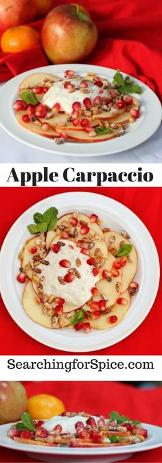 Apple Carpaccio