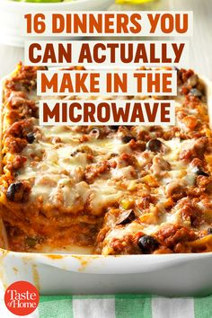 16 Dinners You Can Actually Make within the Microwave - Recipes Homemade Microwave Meals, Microwave Dinners, Healthy Microwave Recipes, Mug Recipes, Casserole Recipes, Cooking Recipes, Cheap Dinners, Food Dishes, Diabetes
