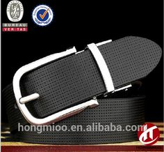 Hongmioo men reversible buckle genuine leather belt