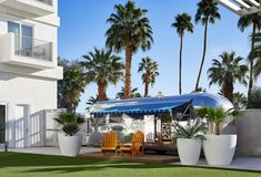 Hotel Paseo_Airstream coachella where to stay cool hotels Unique Hotels, Best Hotels, Airstream, Coachella Valley, Palm Desert, Stay Cool, Palm Springs, Night Life, The Good Place
