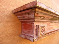 Items similar to Decorative Ledge or Wall Shelf - Millhouse on Etsy Decor, Decor Styles, Wall, Fireplace Mantle, Mantle, Wood Shelves, Woodworking, Wall Shelves, Fireplace Wall