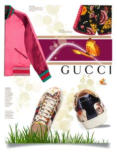 """""""Presenting the Gucci Garden Exclusive Collection: Contest Entry"""" by helia ❤ liked on Polyvore featuring Gucci and gucci"""