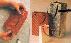 Como fazer sacolas de papel
