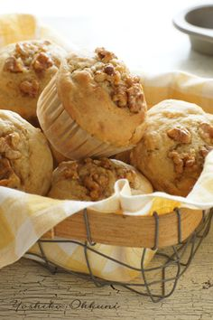 walnut muffin☆