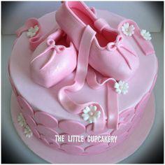 Pretty Ballet Cake by TheLittleCupcakery, via Flickr