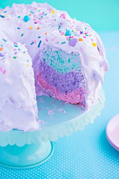 Unicorn Angel Cake {and a Heartfelt Hello!}