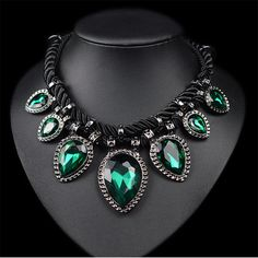 Fashion Statement Choker Necklaces For Women Necklaces & Pendants Maxi Necklace Female Collar Collier Femme Vintage Jewelry 2017