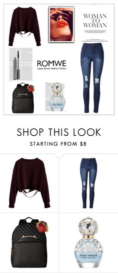 """contest"" by dejan-1 ❤ liked on Polyvore featuring Betsey Johnson, Balmain, Marc Jacobs and MAC Cosmetics"
