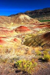 The Painted Hills, one of the three units of the John Day Fossil Beds National Monument