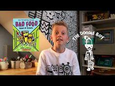 Book Trailers, Bad Food, Doodles, Baseball Cards, Books, Mens Tops, T Shirt, Supreme T Shirt, Libros