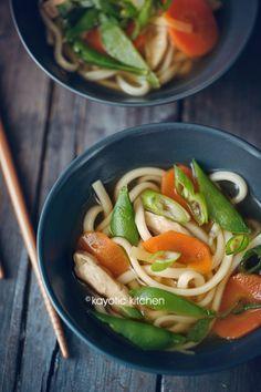 Miso Udon Noodle Soup
