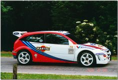 Colin McRae 1999 Ford Focus WRC. Goodwood Festival of Speed 1999.