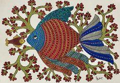 Indian Traditional Paintings, Indian Art Paintings, Traditional Art, Original Paintings, Original Artwork, Madhubani Painting, Mandala Painting, Fabric Painting, Mandala Art