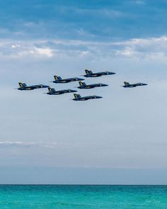 F/18 SUPER HORNETS Super Blues Beach Run 11x14 matting 8x10 print Signed by photographer, Jacob Warye. Us Navy Blue Angels, Running On The Beach, Angel Pictures, Blue Beach, Hornet, Fighter Jets, Blues, Aircraft, Photography