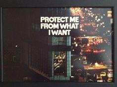 Proteja-me do que eu quero.