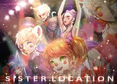 FNaF sister location - Custom Night by HMLime on DeviantArt Fnaf 5, Anime Fnaf, Anime Art, Five Nights At Freddy's, Sister Location Baby, Aaliyah, Animatronic Fnaf, Chihiro Y Haku, Fnaf Baby