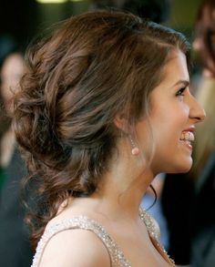 brunette prom hair - Google Search