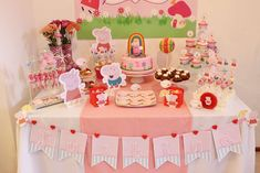 Peppa Pig Birthday Party Ideas | Photo 10 of 14 | Catch My Party