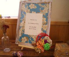 ウェルカムボード 和モダン sakura blue - Spice Petals | 結婚証明書