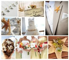 starfish aisle decorations | Hair , Bridesmaids and Flowers , Centerpiece
