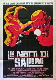 Salem's Lot - Italian poster http://horrorpedia.com/2012/08/29/salems-lot-1979-tv-miniseries/