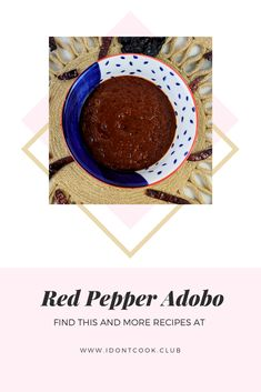 The combination of chiles and spices makes this adobo incredibly flavorful. Roma Tomatoes, Red Peppers, Lime Juice, Spice Things Up, A Food, Food Processor Recipes, Spices, Tasty, Stuffed Peppers