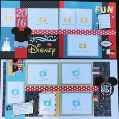 "A ""Magical"" Scrapbooking Workshop: July 27th-30. Not just for Disney, any fun, fabulous event--leave Mickey and Minnie off pages for other adventures 😊💕 kits available too. #ctmhmagical"