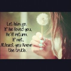 how to let go of him when i love him