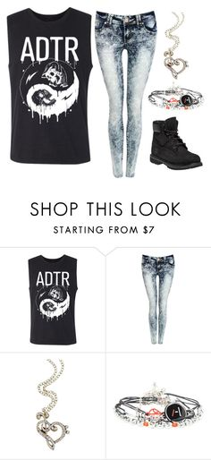 """Untitled #231"" by nickithemenace ❤ liked on Polyvore featuring Pilot and Timberland"