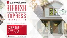 HGTV Overstock Refresh to Impress Sweepstakes