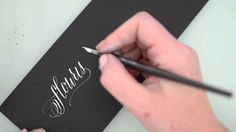 Modern Calligraphy by Melissa Esplin. Learn more about my online class at istilllovecalligraphy.com. I used the Brause 513 with a straight holder and Dr. PH ...