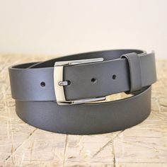 Belt No. 1 leather belt. From the Broundal collection of handmade leather goods designed and produced in Denmark.