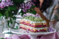 Kinuskinen Raparpericrumble   Annin Uunissa Vanilla Cake, Hummus, Feta, Desserts, Red Peppers, Tailgate Desserts, Deserts, Dessert, Food Deserts