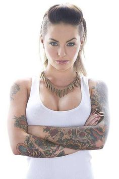 Us b*tches with tattoos can f*ck u up! And kick major ass!