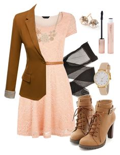 """""""Teaching #2"""" by deliag ❤ liked on Polyvore featuring Anna Field, J.TOMSON, Miss Dora, Kate Spade, Ippolita and Forever 21"""