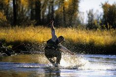 The Ugly Side of Fly Fishing  . . . been there, done that