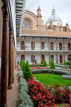 Cuenca, one of the most beautiful colonial cities in South America.