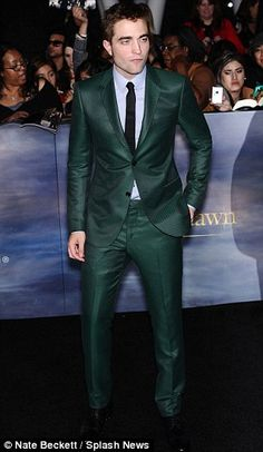 emerald suit: so fetching