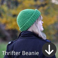 free Thrifter Beanie knitting pattern