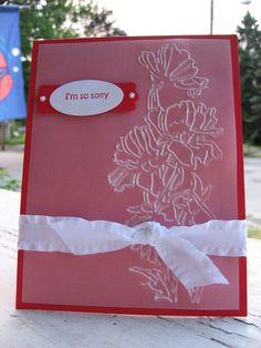 SU Flower Garden Emb. Folder on Vellum