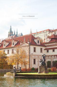 Fall In Prague: photography: radostina place: Valdštejnská zahrada Travel Around The World, Around The Worlds, Prague City, Prague Czech Republic, Europe Photos, Most Beautiful Cities, Amazing Architecture, Vacation Spots, Wonders Of The World