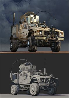 "ArtStation - ""Call of Duty: Ghosts"", MATV vehicle, Taehoon OH"