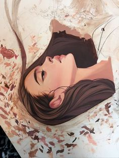 Kelsey j. Pretty Art, Cute Art, Art Des Gens, L'art Du Portrait, Drawn Art, Arte Sketchbook, Art Et Illustration, Illustrations, Digital Art Girl