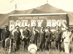 Bailey Bros. Circus 1947 (Big Bob Stevens)