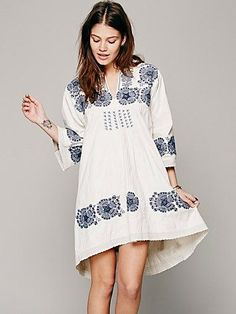 Free People FP New Romantics Doll Face Peasant Dress