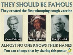 The first whooping cough vaccine        Google+